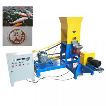 380v / 50hz Fish Feed Processing Machine Double Screw Extruder CE Certification