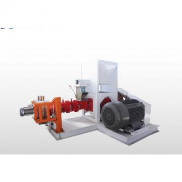 Rubber Sheet Cold Feed Extruder Machine , Recycled Rubber Granules Machine