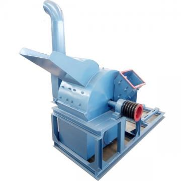 Rotary Wooden Pier Crusher Machine to Crush Wood and Straw