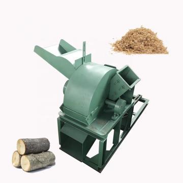 Rotary Wooden Pier Crusher Machine to Crush Wood and Straw