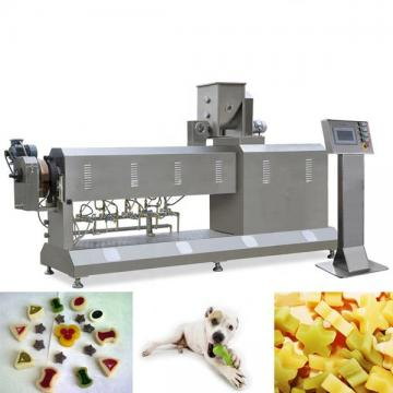 Automatic stainless steel dog cat pet treats food processing machine