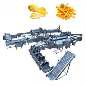 Factory supplying full automatic fresh potato chips making machine price
