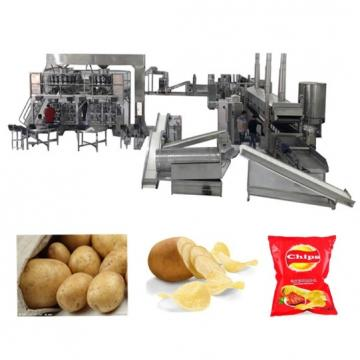 Automatic Electric Fried Plain Wavy Potato Chips Making Machine