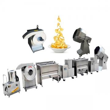 Hot Sale Automatic French Fries Production Line Fresh Potato Chips Making Machine